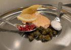 Lachs Kapern Beeren Essen